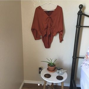 RUSTY ROMANTIC BODYSUIT